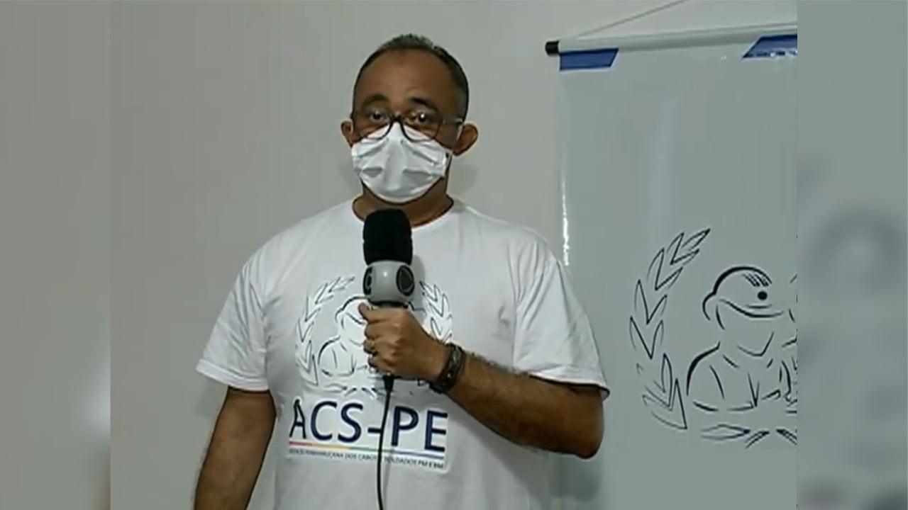O presidente da ACS-PE, Albérisson Carlos/ Foto: Reprodução