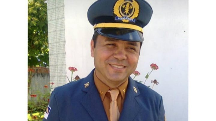 Sargento do Corpo de Bombeiros de Pernambuco, Ray Lira. Foto: Reprodução/Rede Social CBMPE