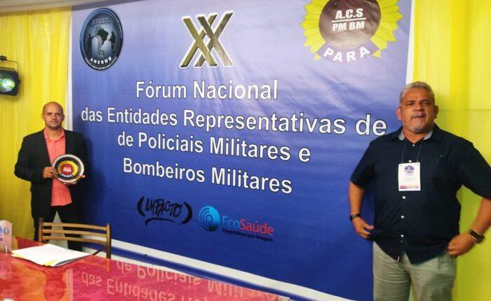 Representantes da ACS no Fórum, em Belém. Foto: Divulgação