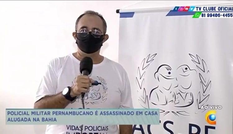 O presidente da ACS-PE, Albérisson Carlos/ Foto: Reprodução/ TV Clube