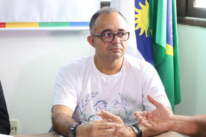 Presidente da ACS-PE, Albérisson Carlos/ Foto: Luiz Fernandes/ Portal de Prefeitura.